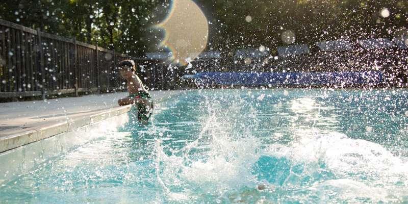 La piscine du Bois de Faral