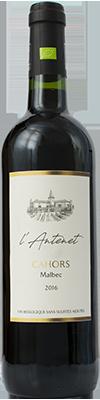 Domaine de L'Antenet, vin de Cahors bio