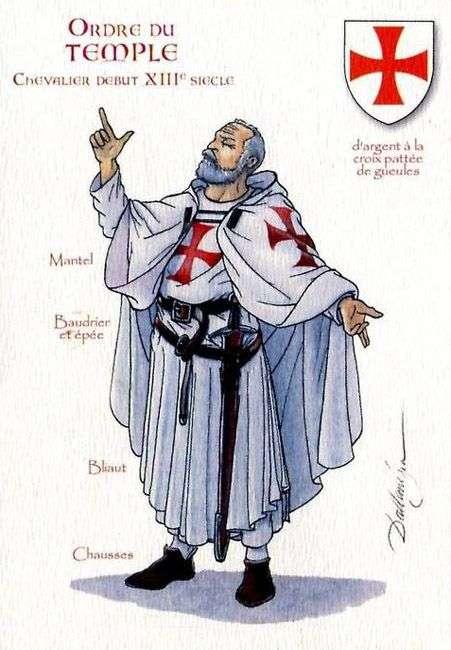 Chevalier du Christ et du Temple de Salomon, Templier