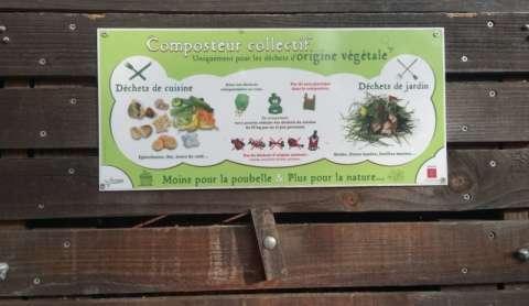 Le bac de compostage