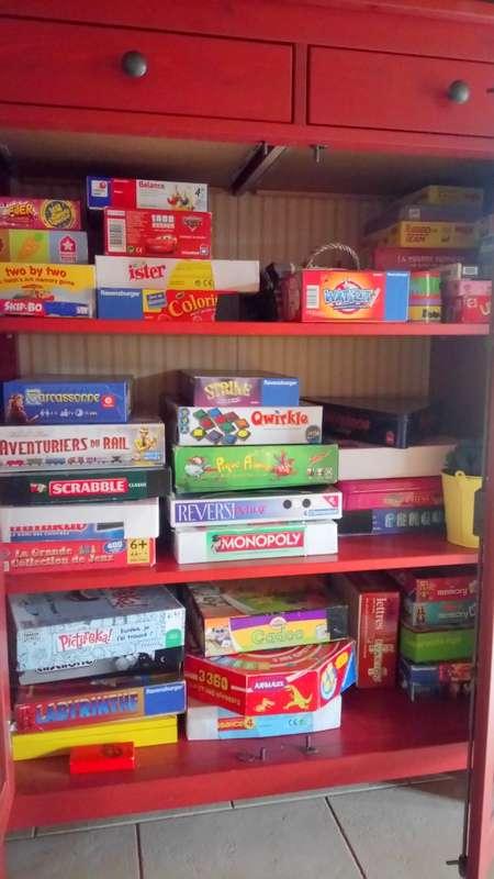 Le petite armoire de jeux